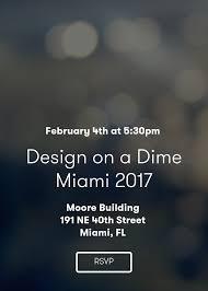 design on a dime miami 2017
