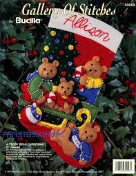 bucilla felt christmas stocking kits fth international sales ltd