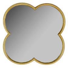 Wall Mirrors At Target Quatrefoil Mirror Gold Finish 23 Threshold Quatrefoil Lofts