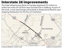 interstate 26 map sheep is road not in i 26 project postandcourier com