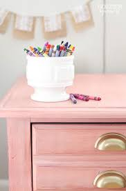 pink nightstand side table the golden sycamore