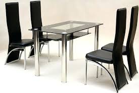 black glass dining room table dining set leather chairs easy dining room guide enchanting glass
