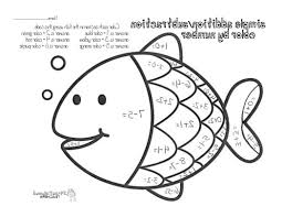 color number add sub fish 464584 coloring pages for free 2015