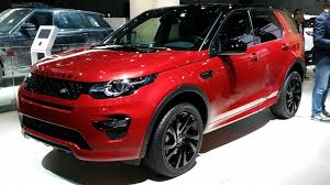 land rover discovery sport red land rover discovery sport dynamic revealed of ahead of frankfurt
