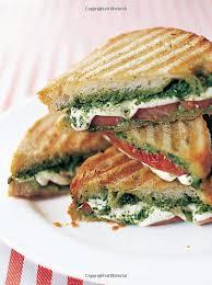 Caprese Panini Mozzarella Tomatoes and Basil Recipe