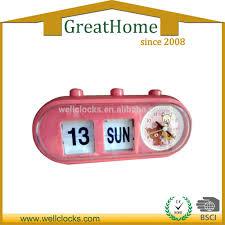 automatic day date calendar flip desk clock cute flip clock buy