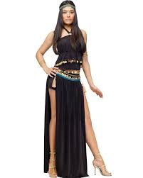 Halloween Prom Costumes Egyptian Nile Dancer Womens Costume Halloween