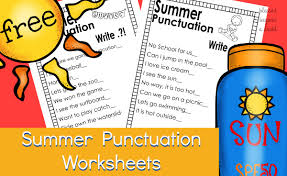 Worksheets Punctuation Free Punctuation Worksheets Summer Edition Blessed Beyond A Doubt