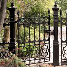 best 25 cast iron gates ideas on cast iron fence