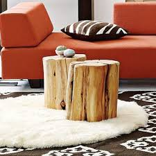 Tree Stump Side Table Tree Stump Side Tables
