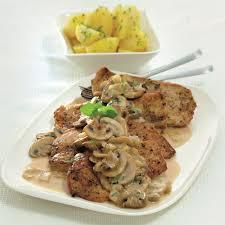 cuisine legere et dietetique escalope à la sauce chasseur recette weight watchers belgique