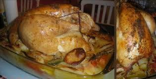 cuisine chapon roti chapon rôti au four mademoiselle laeti se met à la cuisine