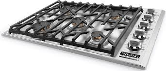 Cooktops Gas 30 Inch Viking Vgsu5305bssng 30 Inch Gas Cooktop With Scratchsafe