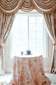 sheer curtains for large windows in swag ideas swag