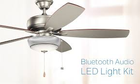 Kichler Ceiling Fans With Lights Bluetooth Ceiling Fan Speaker Kit