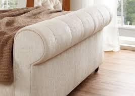 Tufted Sleigh Bed King Design For Tufted Sleigh Bed Ideas Headboard And Footboard Design