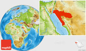 map of tabuk physical location map of tabuk