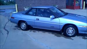 1986 subaru xt freshly washed and new tires subaru xt 1988 youtube
