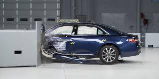 lexus vs mercedes crash test top crash rating iihs names three cars not tesla model s