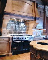 Mirrored Backsplash In Kitchen Hand Made Custom Kitchen Backsplash Omaha By Glas Tile Inc