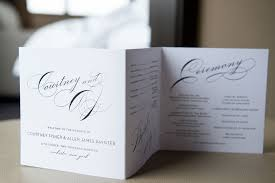 Wedding Programs With Ribbon Elegant Wedding Invitations With Ribbon Elegant Wedding