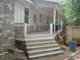 up from the ashes front porch railings steps trim
