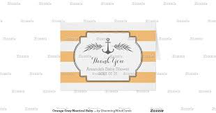 28 nautical baby shower thank you cards nautical theme baby