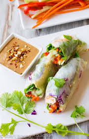 where to buy rice paper wraps fresh summer rolls with easy peanut dipping sauce