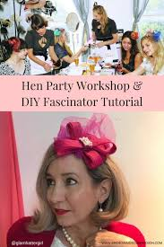 do it yourself hairstyles gatsby you tube how to make a fabulous diy fascinator by glam hatters