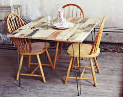 5 simple dining room tables to build diy thought