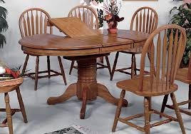 oak dining room sets farmhouse oak dining table and 4 side chairs overstock