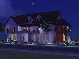 mod the sims 12 strawberry lane a two story house with four