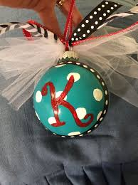 how to create a painted monogram ornament snapguide