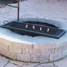 Firepit And Grill by Improbable Fire Pit Grill Grates Garden Landscape