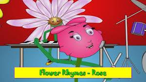 rose rhyme flower rhymes for children nursery rhymes for kids