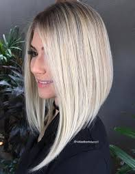 diy cutting a stacked haircut best 25 long angled bobs ideas on pinterest long angled haircut