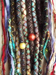 hippie hair wraps 10 custom standard clip in or braid in synthetic hair and
