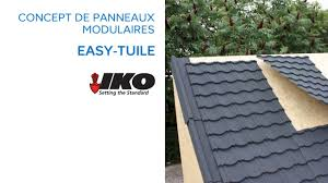 Tole Immitation Tuile by Panneau De Couverture Easy Tuile Iko 643696 Castorama Youtube