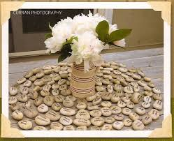 wishing rocks for wedding unique placecard ideas wedding seating stones 2 wedding