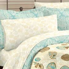 Twin Comforters For Adults Blue Coastal Seashell Bedding Twin Full Queen King Comforter Set