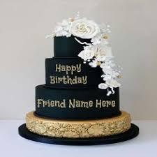 write name on birthday cake happy birthday pinterest 1st