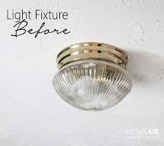 installing a light fixture