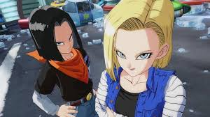 android 17 and 18 fighterz android 17 18 16 gameplay trailer