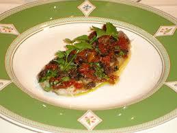 comment cuisiner des filets de sardines filets de sardine marinés et poêlés aux tomates