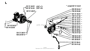 husqvarna 266 1981 09 parts diagrams