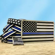 Subdued American Flag With Thin Blue Line Thin Blue Line Gifts Thin Blue Line Usa