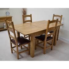 french farmhouse dining table farmhouse 4ft extending oak farmhouse dining table