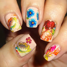 summer flower nail art foil blog by wendy u0027s delights charlies