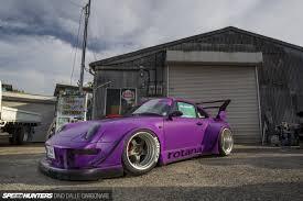 porsche rwb purple rwb in miniature you won u0027t believe this speedhunters