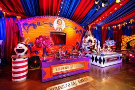 extravagant circus birthday party love luxe